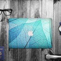 Macbook Decal Skin | Floral Collection - Leaf