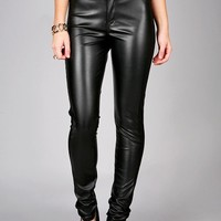 Underground Leather Skinnys | Cute Clothes at Pink Ice