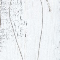 With Love From CA Arrow Charm Necklace - Womens Jewelry - Silver - One