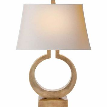 Visual Comfort and Company CHA8970AB-NP Large Ring Table Lamp