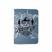 Adventure Customized Cute Leather Passport Holder - Passport Covers - Passport Wallet_SUPERTRAMPshop
