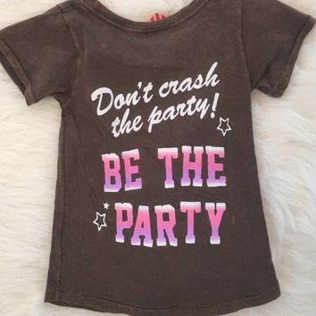 JUNK FOOD MINI | Be the Party Tee - Pepper