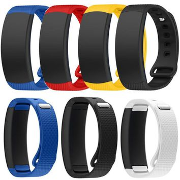 Factory price Luxury Silicone Watch Replacement Band Strap For Samsung Gear Fit 2 SM-R360 Wristband Free Shipping JA22