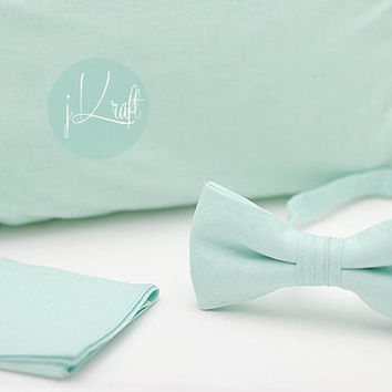 Mint wedding set,mint neck tie,mint polka dot tie,mint throw pillow cover,mint handkerchief, pocket square, mint theme wedding, party,men