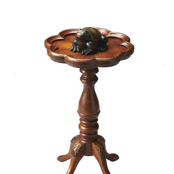 Whitman Olive Ash Burl Scatter Table