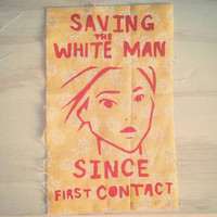Pocahontas Patch: Saving the White Man Since First Contact