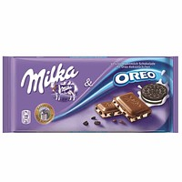 Milka Oreo Chocolate 3.5 oz. (100g)