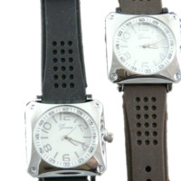 Geneva Silicone Strap Watch