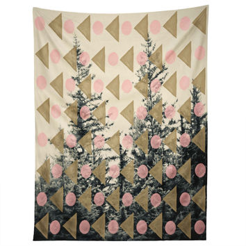 Maybe Sparrow Photography Through The Geometric Trees Tapestry