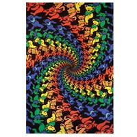Grateful Dead - Spiral Bears 3-D Tapestry on Sale for $31.99 at HippieShop.com