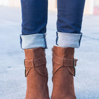 Stomp And Shake Booties, Brown