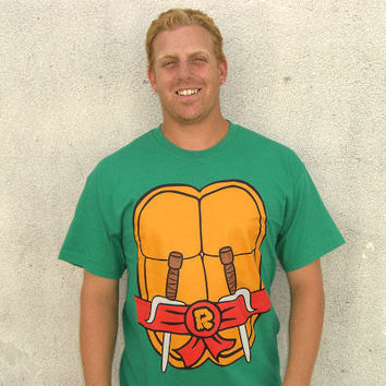 Raphael Teenage Mutant Ninja Turtles T-Shirt Costume TMNT New