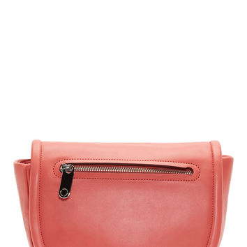 Marc By Marc Jacobs Pink Leather Luna Crossbody Bag