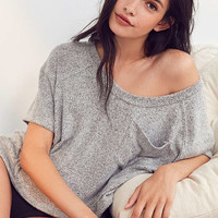 Out From Under Cozy Fleece Pocket Tee | Urban Outfitters