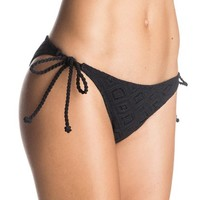 Hazy Daisy Tie Side Surfer Bikini Bottoms ERJX403014 | Roxy
