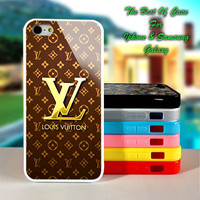 Louis Vuitton Gold - iPhone 4/4s, iPhone 5s, iPhone 5c case.