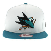 San Jose Sharks The NE Tropicus SNAPBACK By New Era Cap New Era Caps, Snapbacks, Bucket Hats, T-Shirts, Streetwear USA Cranium Fitteds