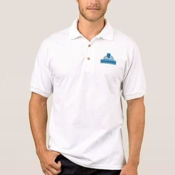 Umpire Referee Official Whistle Half Circle Retro Polo Shirt