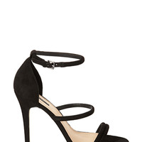 FOREVER 21 Faux Suede Strappy Sandals