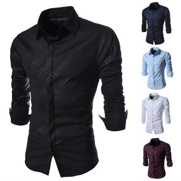 Slim Fit Men's Luxury Style Shirt