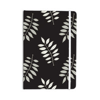 "Laurie Baars ""Pagoda Leaf"" Floral Illustration Everything Notebook"