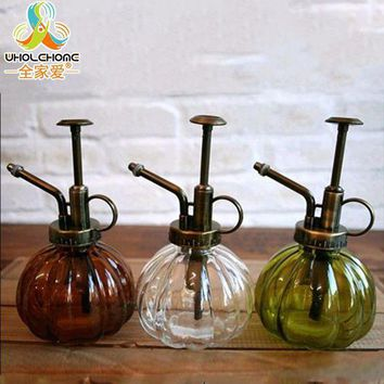 ONETOW Vintage Glass Watering Cans /Zakka Gardening Water can Garden Decoration Watering Cans