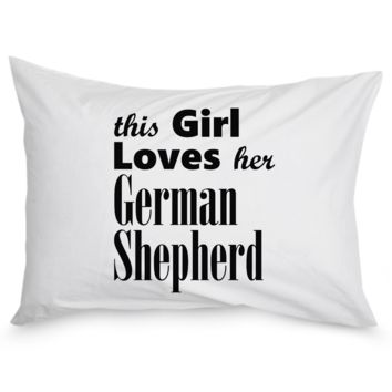 German Shepherd - Pillow Case pwc-german-shepherd