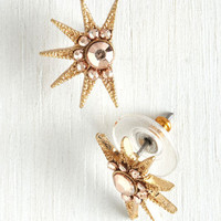 Vintage Inspired Haute of the Rising Sun Earrings by ModCloth
