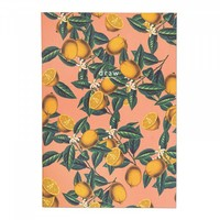 Arden Rose Lemon A4ish Notebook