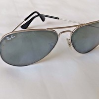 Cheap Ray-Ban Aviator Large Metal Gold Brown RB3025 001/51 55mm Sunglasses outlet