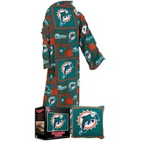Fabrique Innovations Miami Dolphins Pillow Snuggie