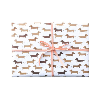 Dachshunds Wrapping Sheets