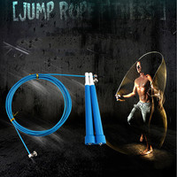 Adjustable Steel Wire skipping rope 3M Speed Steel Wire Skipping Jump Rope fitness Crossfit Box MMA Gome Gym Fitnesss Equipment