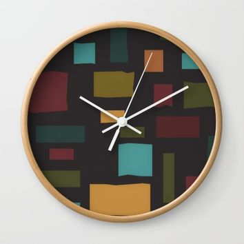 The Pattern Gets Worse I Wall Clock by Metron