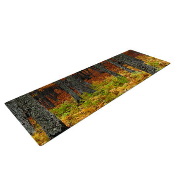 Falling Love Forest Tree Yoga Mat