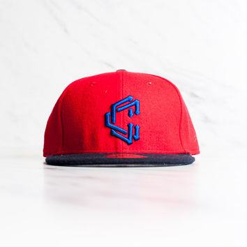 New Era x Crooks & Castles Diamond 59 Fifty - Red/Black