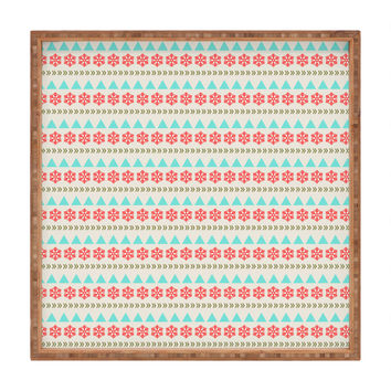 Allyson Johnson Holiday Style Square Tray