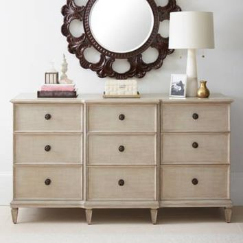 Stanley Furniture Villa Couture Lucio Dresser in White