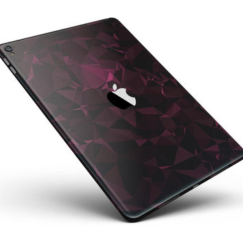 """Pink Geometric V11 Full Body Skin for the iPad Pro (12.9"""" or 9.7"""" available)"""