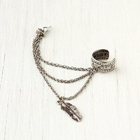 Free People Multi Chain and Stud Ear Cuff