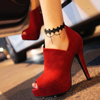Gothic Anklet Black Lace with Chain Tassel Anklet Bracelet Foot Chain