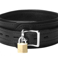 Strict Leather Premium Locking Collar
