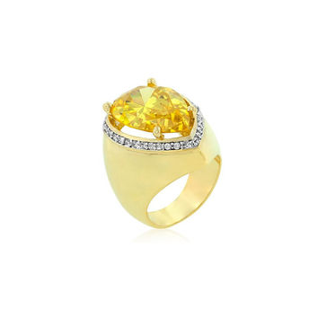 Sunlit Border Ring - Similar to Cartier