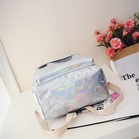 CRYBABY Popular Holographic Backpack