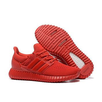 Adidas Yeezy Ultra Boost Red Men/Women shoes