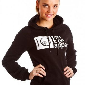 Sandies Hoodie (Black) | Ten Tree Apparel