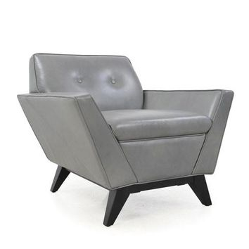 Wegner Full leather Mid-Century chair