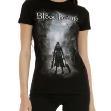 Bloodborne Cover Art Girls T-Shirt