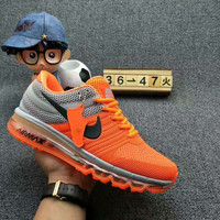 NIKE AIR MAX Fashion Sport Casual Shoes Sneakers orange