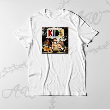 Mac Miller Kids Cover LP Graphic tee T Shirt